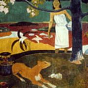 Gauguin: Pastoral, 19th C Art Print