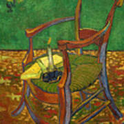 Gauguin's Chair Art Print