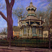 Gazebo At Wisconsin Club Art Print