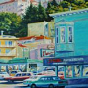 Geary Street Art Print