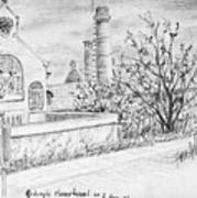 Gedempt Hamerkanaal Art Print