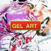 Gel Art #1 Art Print
