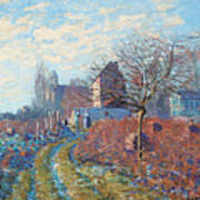Gelee Blanche Print by Alfred Sisley