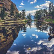 Gem Lake Reflections Art Print