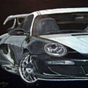 Gemballa Porsche Right Art Print