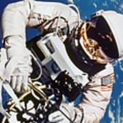 Gemini 4: Spacewalk, 1965 Art Print