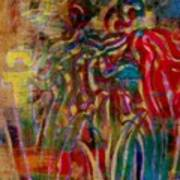 Gemini Abstract Art Print