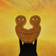 Gemini. Self-portrait Art Print