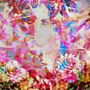 Gemini Woman Art Print