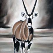 Gemsbok - Solitude Art Print