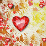 Gemstone - 7 Art Print