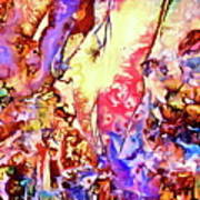 Gemstone Impressions Art Print