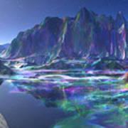 Gemstone Mountain  Art Print