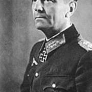 General Friedrich Wilhelm Ernst Paulus 1942 Art Print