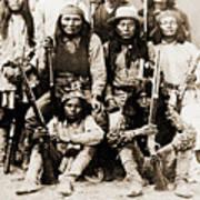 General George Cook Apache Army Art Print