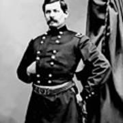 General George Mcclellan Art Print by War Is Hell Store