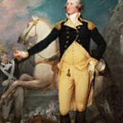 General George Washington At Trenton Art Print