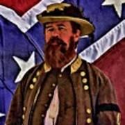 General Jeb Stuart Of Vmi Art Print