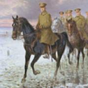 General John J Pershing  Art Print by Jan van Chelminski