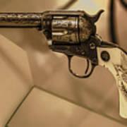 General Patton's Model 1873 Colt 45 Revolver  Art Print