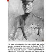 General Pershing - United War Works Campaign Art Print