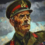 General Sir Alan Cunningham Art Print