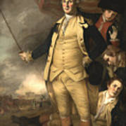 General Washington At The Battle Of Princeton Art Print