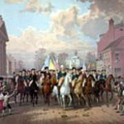 General Washington Enters New York Art Print by War Is Hell Store