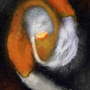 Genesis Of The Elder God Art Print