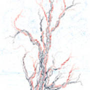 Genetic Branches Art Print