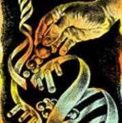 Genetic Engineering Art Print