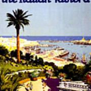 Genoa, Italian Riviera, Coast Art Print