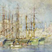 Genoese Shipping Art Print
