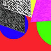 Geo Shapes 2a Art Print