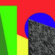 Geo Shapes 3 Art Print