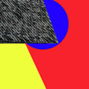 Geo Shapes 4a Art Print