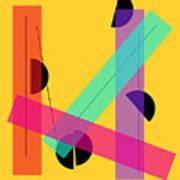 Geometric Art 419 Art Print