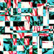 Geometric Confusion 2 Art Print