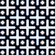 Geometric In Black And White Art Print