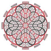 Geometric Mandala Art Print