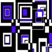 Geometric Pizazz 5 Art Print