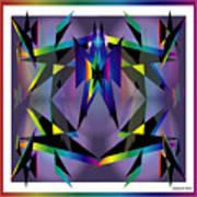 Geometrics1 Art Print