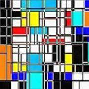 Geometrix Art Print
