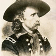 George Armstrong Custer  Art Print