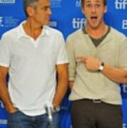 George Clooney, Ryan Gosling Art Print by Everett