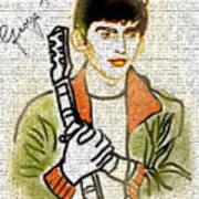George Harrison - 1 Art Print