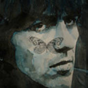 George Harrison @ Butterfly Art Print