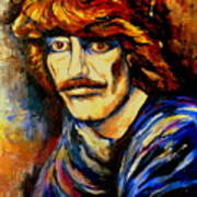 George Harrison Art Print