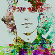 George Harrison Art Print by Naxart Studio