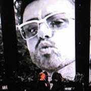 George Michael Sends A Kiss Art Print